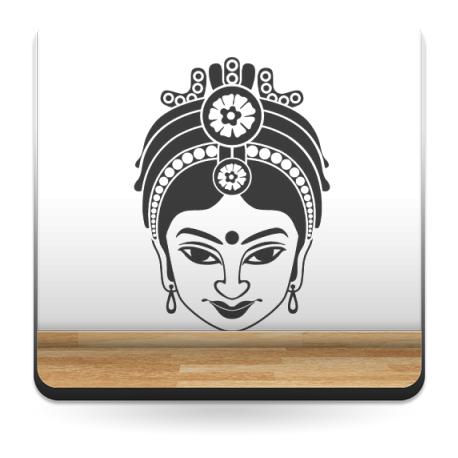 vinilos imagen producto Mujer Hindú