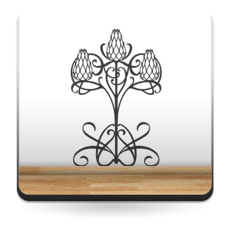 Fantasía Étnica II decoración con vinilo