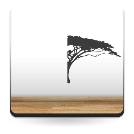 adhesivo decorativo Árbol Sabana