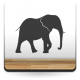 Elefante Motivo V imagen vinilo decorativo