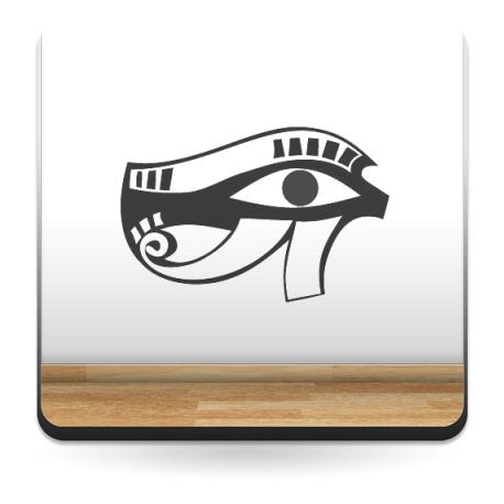 pegatina decorativa Ojo Osiris Egipcio