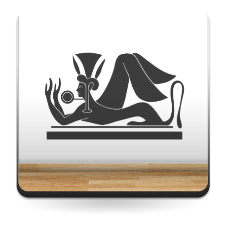 Esfinge Egipcia I adhesivo decorativo ambiente