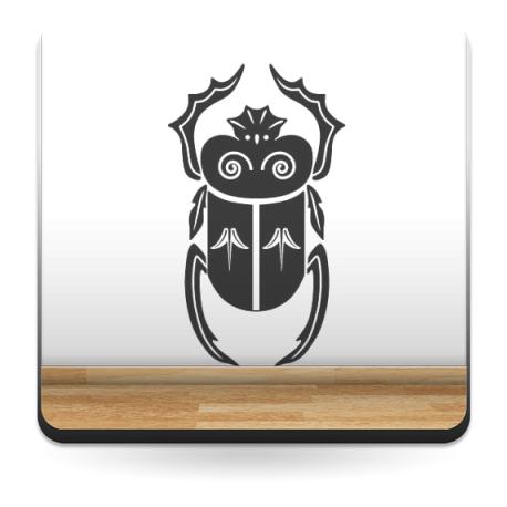 Escarabajo Egipcio II imagen vinilo decorativo