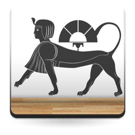 pegatina decorativa Esfinge Egipcia II