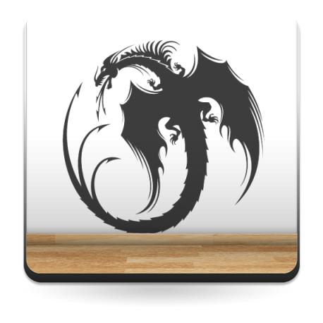Dragón Motivo I producto vinilos