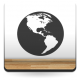 pegatina decorativa Planeta Tierra
