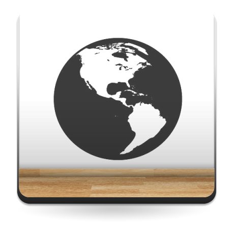 Vinilos Decorativos Planetas.Planeta Tierra