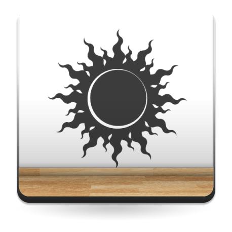 adhesivo decorativo Sol Motivo III