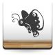 Mariposa Infantil decoración con vinilo