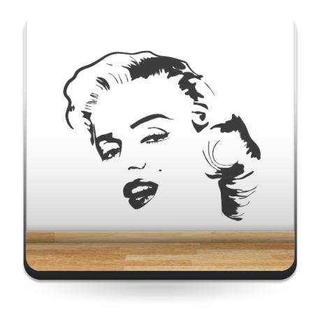 vinilo decorativo Marilyn Monroe Motivo I