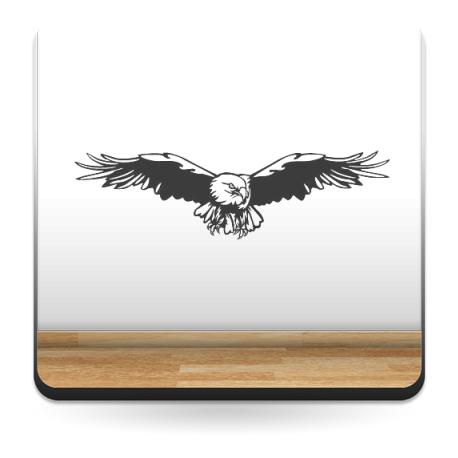 Águila Motivo II decoración con vinilo