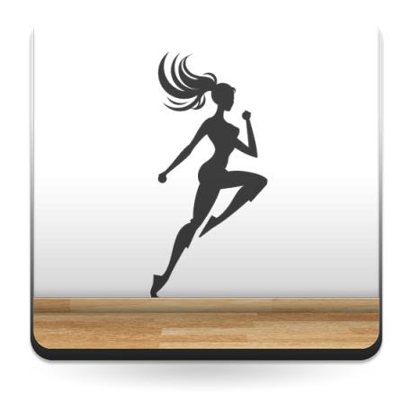 Aerobic Motivo I adhesivo decorativo ambiente