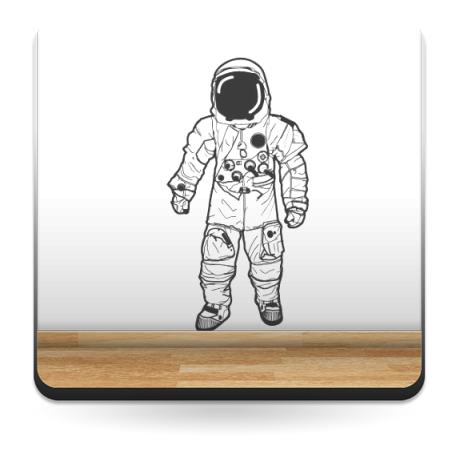 adhesivo decorativo Astronauta Motivo I