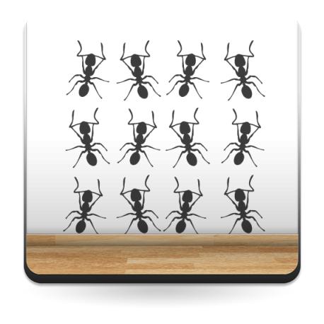 Hormigas Motivo I producto vinilos