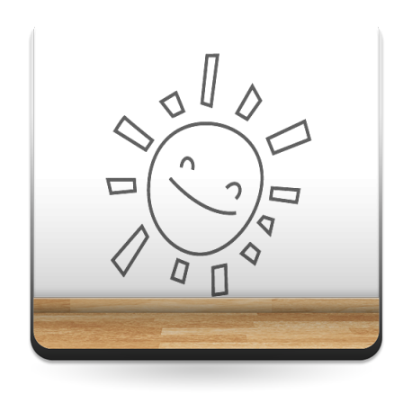 pegatina pared Sol Sonrisa