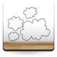 adhesivo decorativo Nube Motivo III