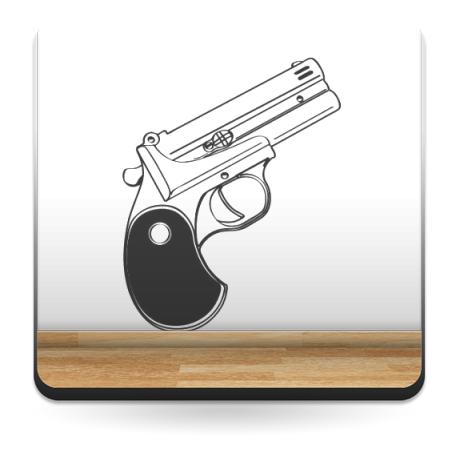Pistola Motivo producto vinilos