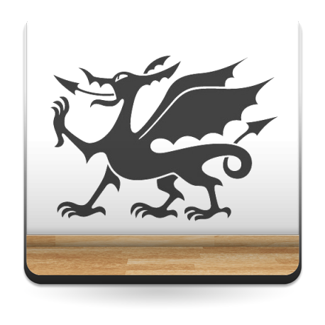vinilos imagen producto Dragón Motivo II