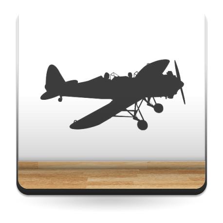 pegatina decorativa Avioneta Motivo I