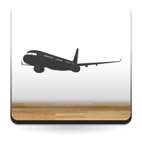 Avión Motivo III producto vinilos