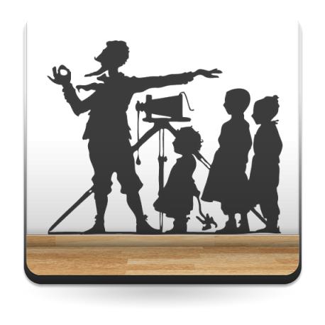 vinilos imagen producto Fotógrafo Niños