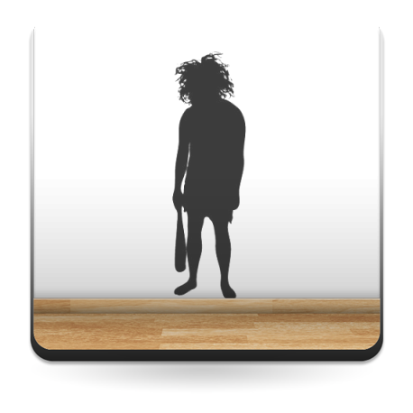 vinilo decorativo Neandertal Motivo I