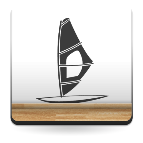 adhesivo decorativo Windsurf Motivo