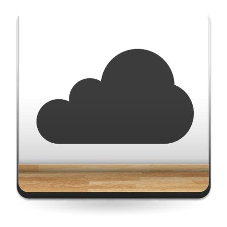 vinilos imagen producto Nube Motivo VI