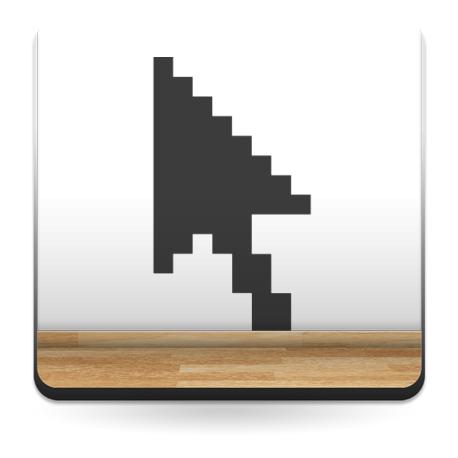 Cursor Flecha adhesivo decorativo ambiente