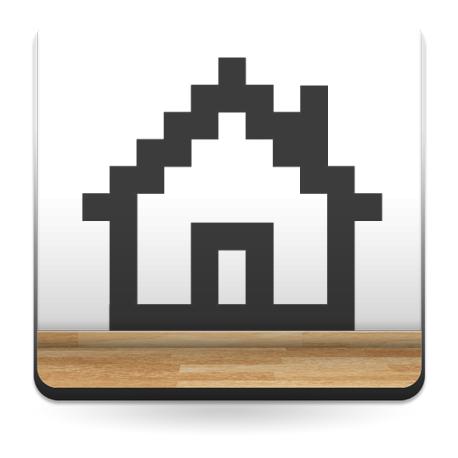 adhesivo decorativo Icono Inicio
