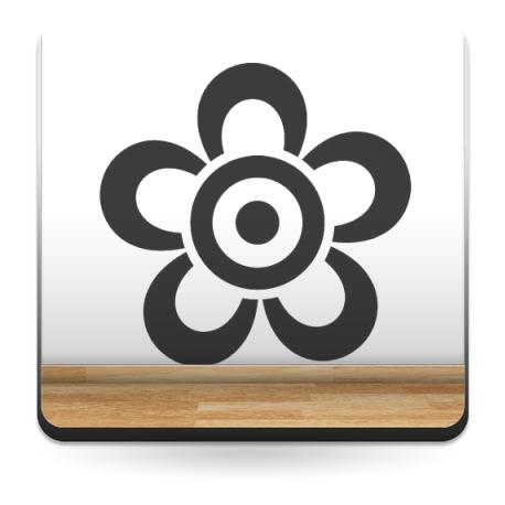 adhesivo decorativo Geometría Floral VI