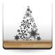 pegatina pared Árbol de Navidad III