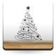 vinilos imagen producto Árbol de Navidad VI