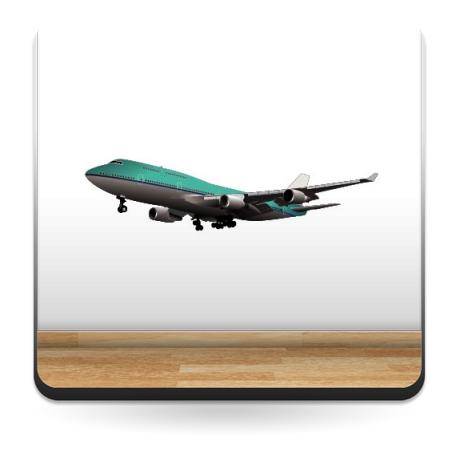 Avión Pegatina I adhesivo decorativo ambiente