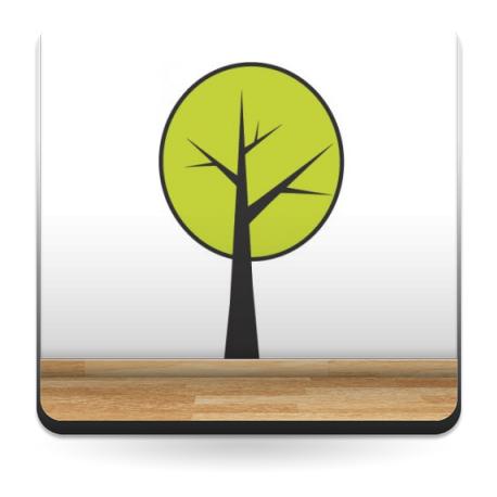 pegatina decorativa Árbol Pegatina I