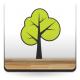 Árbol Pegatina III adhesivo decorativo ambiente