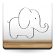 vinilos imagen producto Elefante