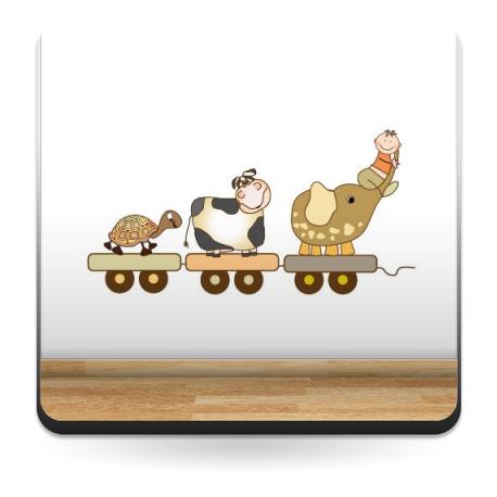 Animalitos Viajeros imagen vinilo decorativo