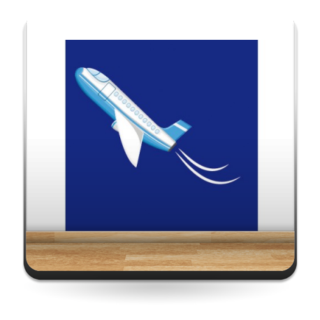 Avión Pegatina VI adhesivo decorativo ambiente