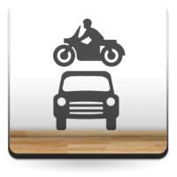 Símbolo Aparcamiento Motos y Coches