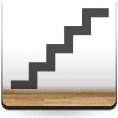 Símbolo Escalera producto vinilos