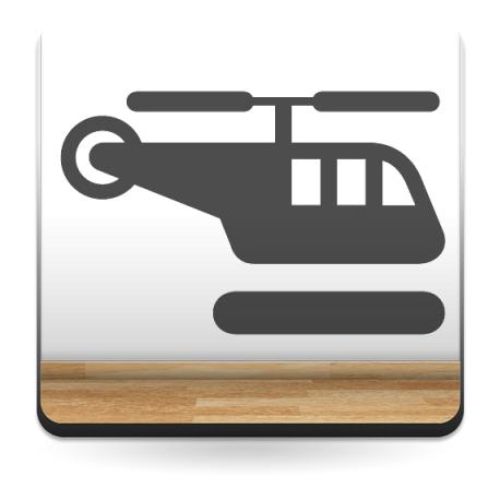 Símbolo Helipuerto producto vinilos
