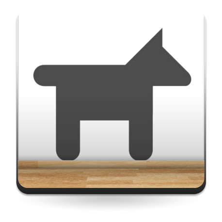 adhesivo decorativo Símbolo Perros