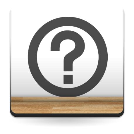 Símbolo Preguntas imagen vinilo decorativo