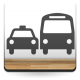 Símbolo Taxi Bus imagen vinilo decorativo