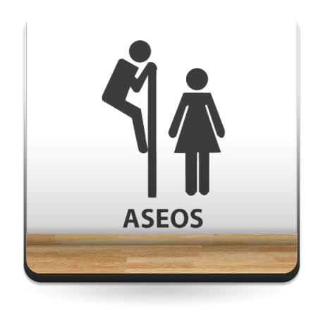 Símbolo Aseos I imagen vista previa