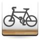 vinilo decorativo Símbolo Bicicleta