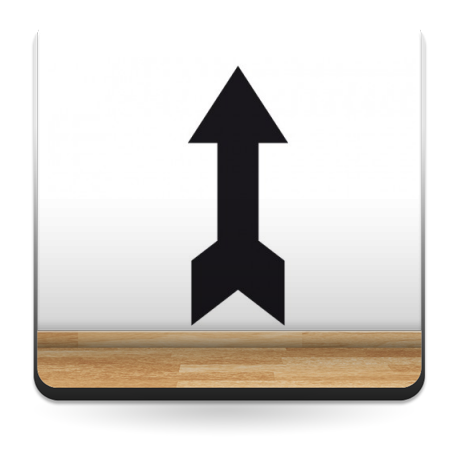 vinilos imagen producto Símbolo Flecha