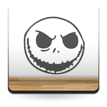 adhesivo decorativo Horror Face II