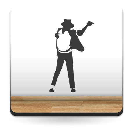 adhesivo decorativo Michael Jackson VII